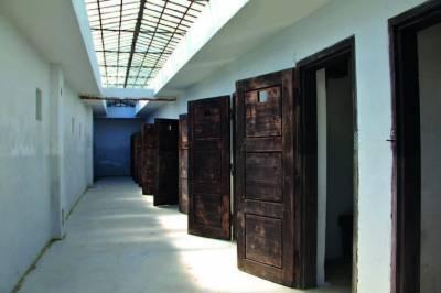 Prison cells in Terezín
